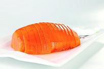 橙香木瓜菜品照片