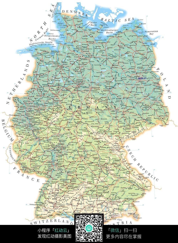 德国地图图片图片