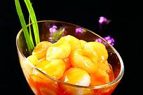 好吃的橙香马蹄菜品照片