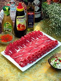 素材肥肩峰摆盘拍照图片-牛肉美食 图片库图库梦色糕点师之突然图片