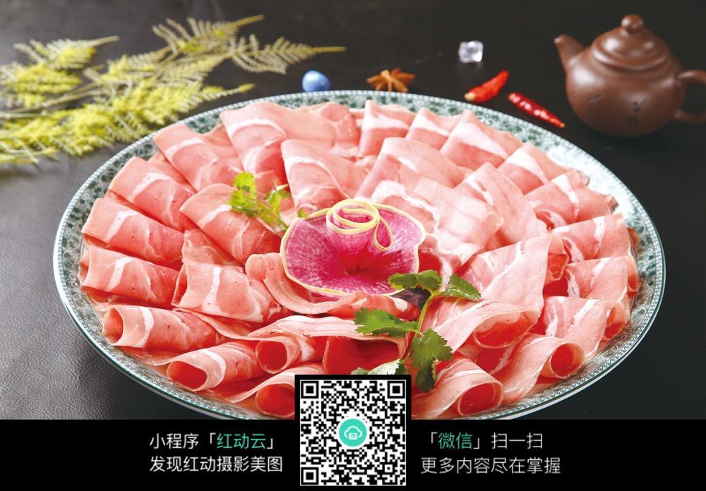 老妈图片外脊原料摆盘照片图片_食材糯米特色广东肥牛棕图片