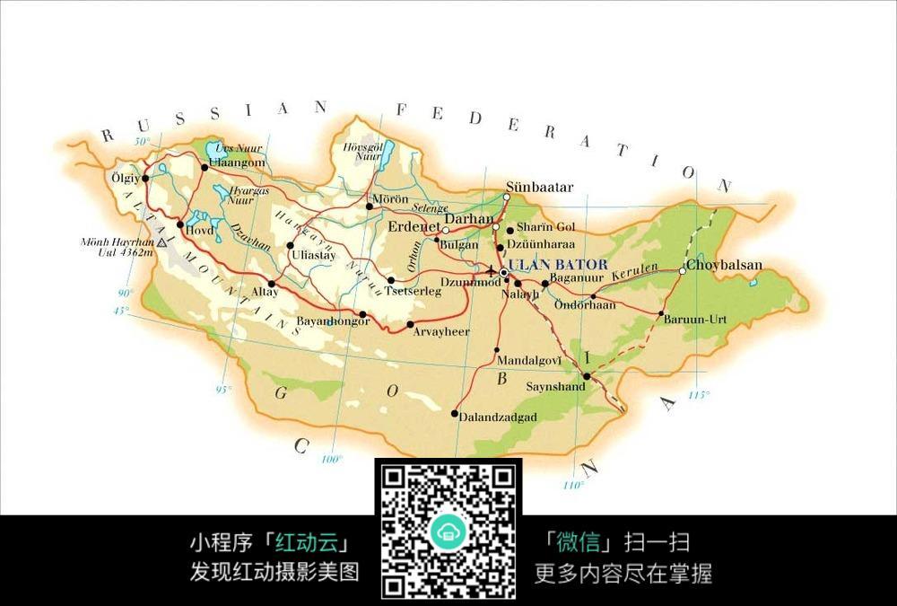 蒙古地图图片_其他图片