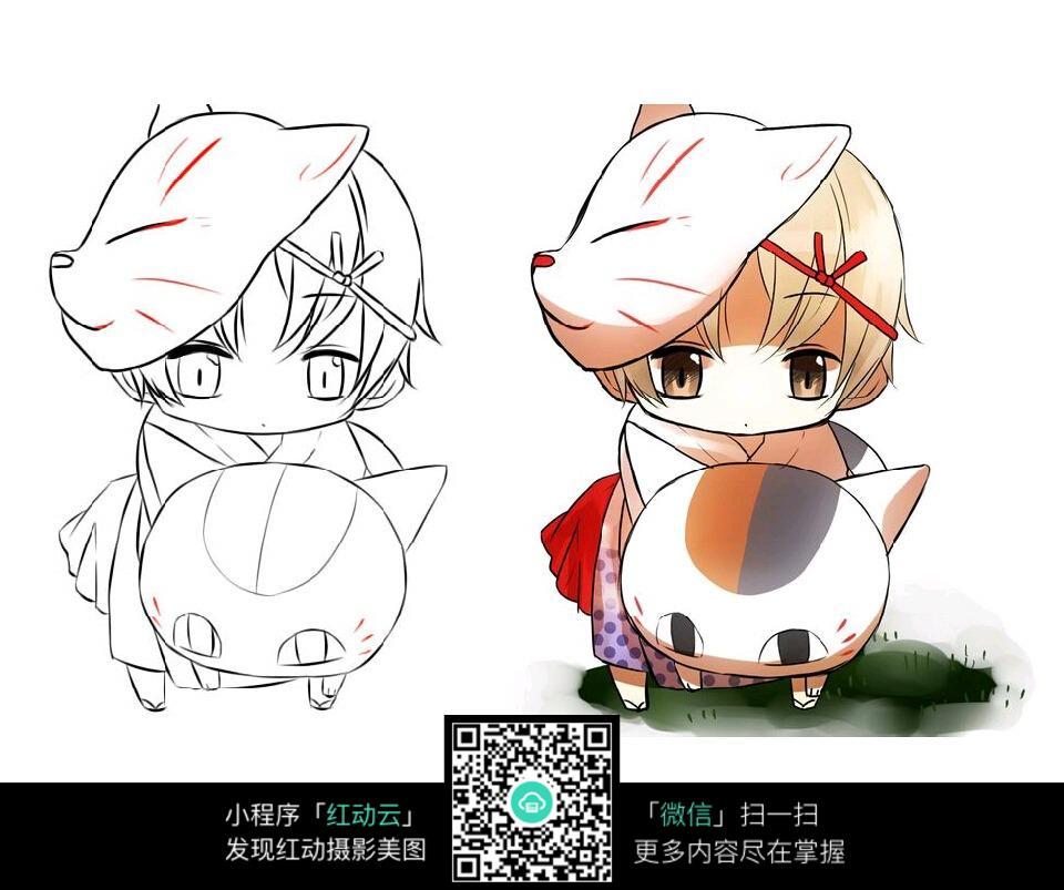 日本漫画_人物卡通图片