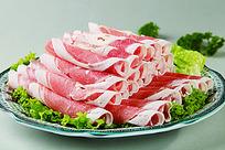 瑞福精致牛肉卷摆盘照片