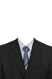 商务男士西装模板