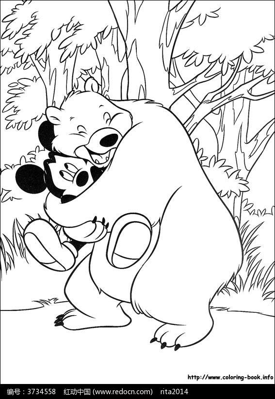 维尼熊吃蜂蜜_人物卡通图片