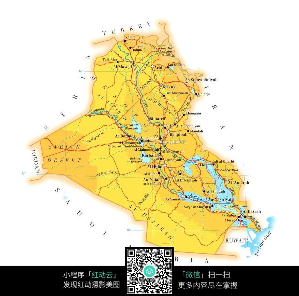 伊拉克地图板块