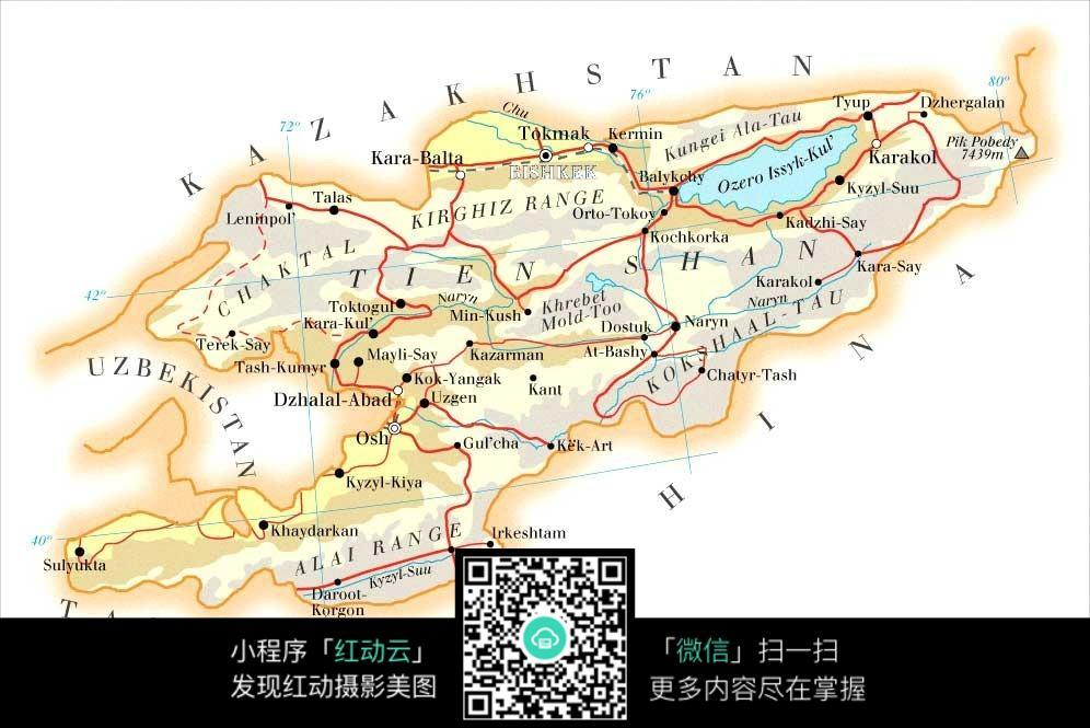 中东国家板块地图图片