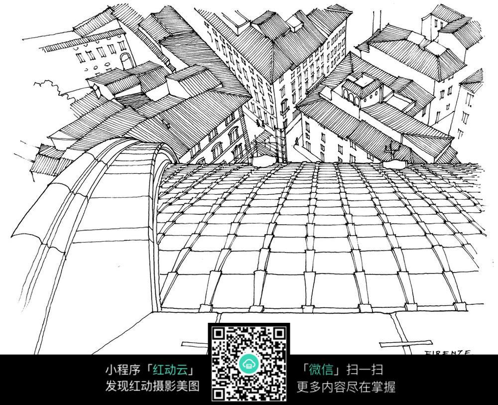 地图 简笔画 手绘 线稿 1000_813
