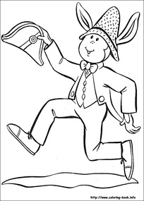 卡通吃饭的小孩黑白简笔画图片素材