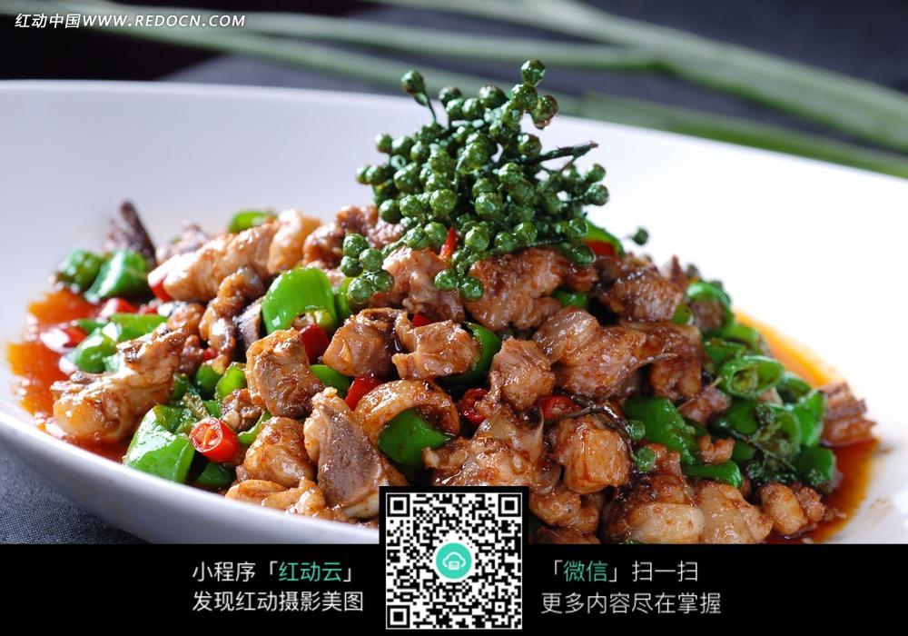 鲜椒美味鸡图片免费下载 编号3520749 红动网