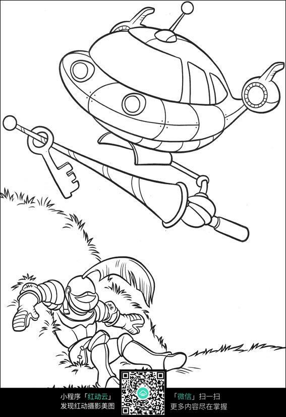 【50种机器人画法-国外手绘教程】-第5页 乐乐简笔画