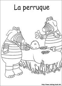 女孩野餐图片_人物卡通图片