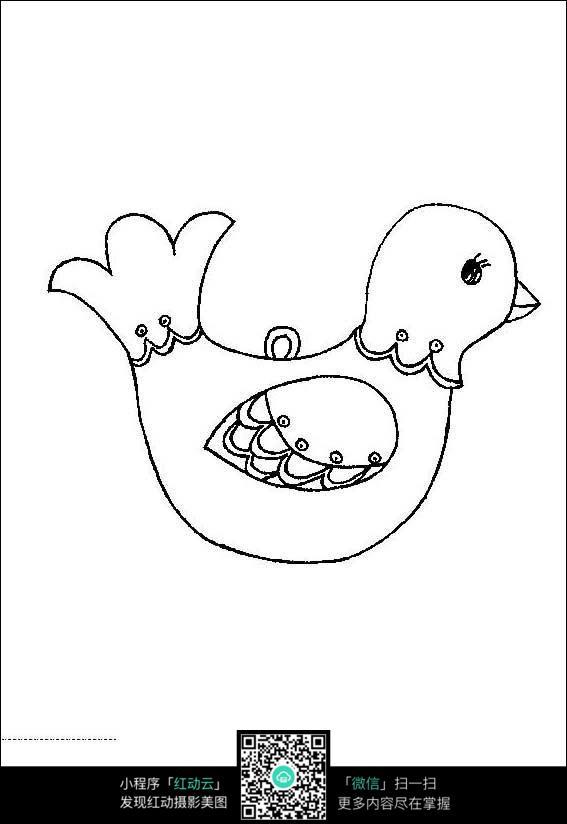 可爱的鸭子