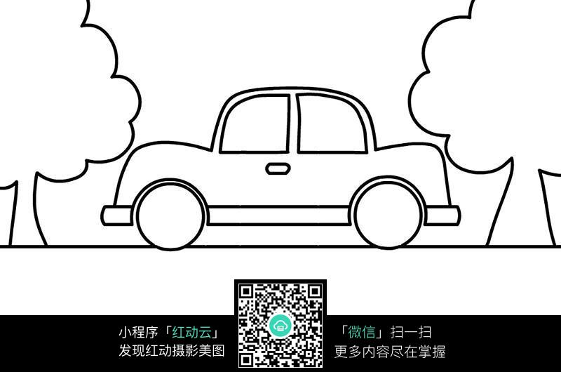 simple vehicle coloring pages - photo#3