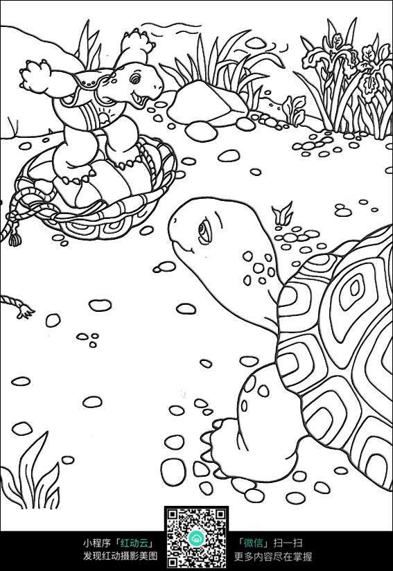 小乌龟搬家卡通动漫