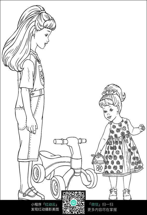 侧面人像简笔画,人物简笔画大全侧面,侧面人物简笔画,小女孩侧面简笔画