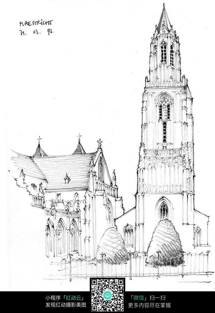欧式别墅建筑图
