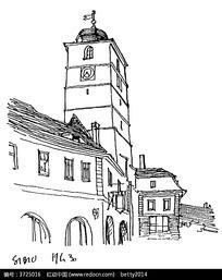 钟楼建筑图片图片