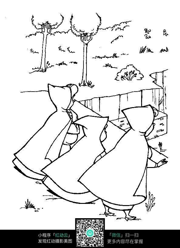 睡美人仙子手绘图