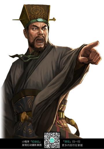 cg人物插画 三国人物 三国演义 古代人物插画 cg三国人物 中国古典