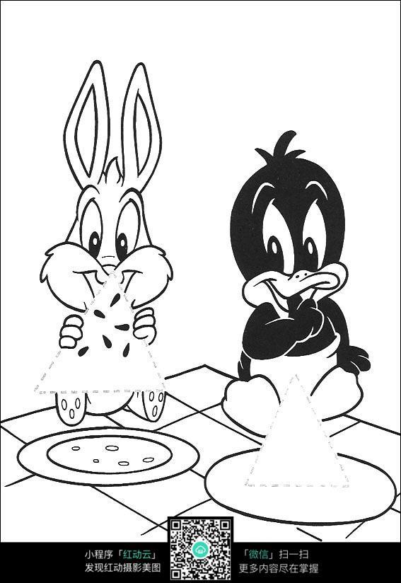 小公鸡和小鸭子_第2页_乐乐简笔画