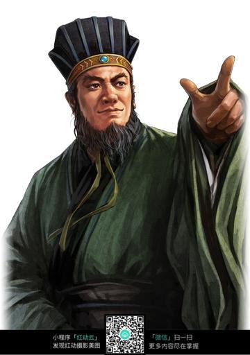 三国人物 cg人物插画 三国演义 人物插画 彩色插画人物 中国名著 jpg