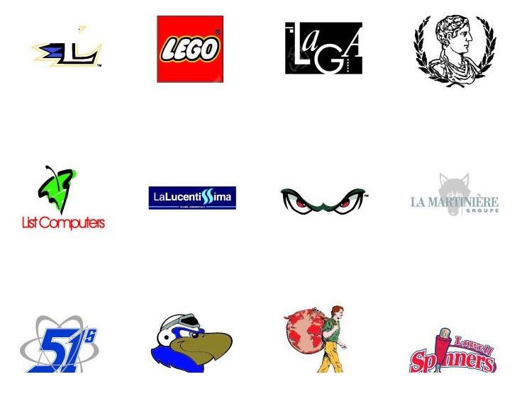 免费素材 矢量素材 标志|图标 行业标志 运动商品logo设计图片