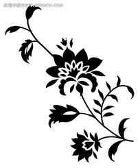 边框植物花纹装饰psd素材