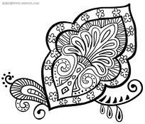 家居装饰艺术花纹psd素材