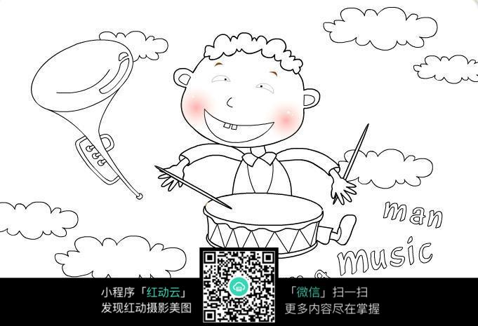 动漫 简笔画 卡通 漫画 手绘 头像 线稿 681_465