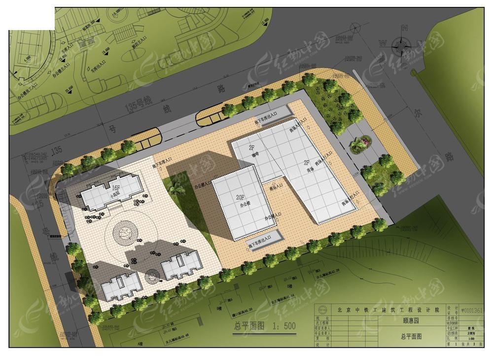室外建筑设计平面图psd免费下载