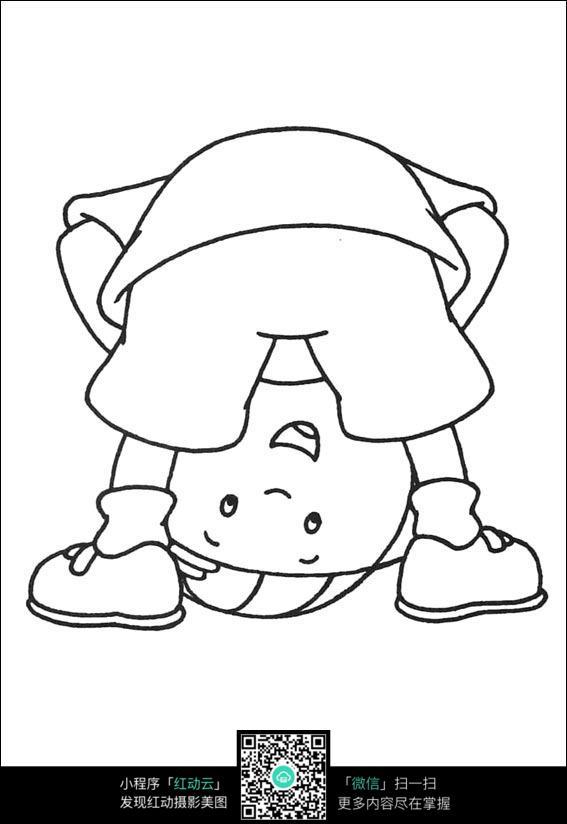 图片素材男孩插画漫画色线要钱往下看的卡通卡通弯腰填人物稿jpg不的漫画手绘图片