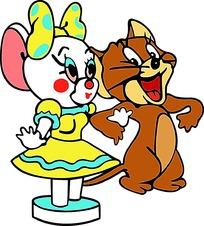 舞蹈的杰瑞鼠