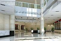 医院一层大厅效果图
