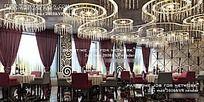 餐厅公共空间装修设计效果图