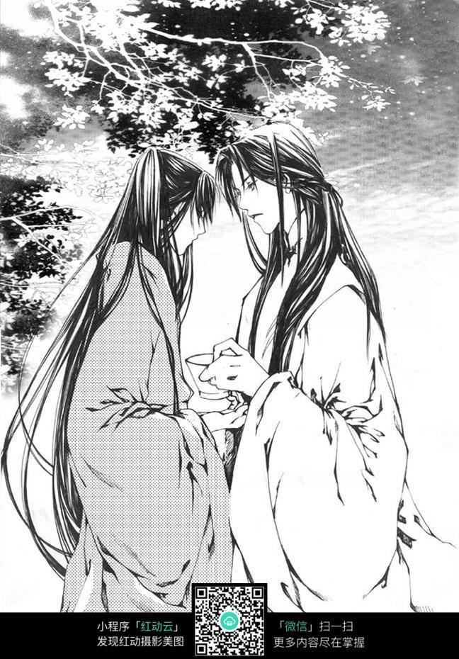 古代动漫情侣