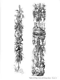 果实动物边框装饰图案素材