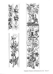 果实猴子装饰图案素材