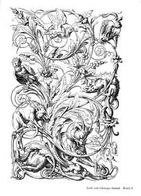 花鸟动物装饰图案素材