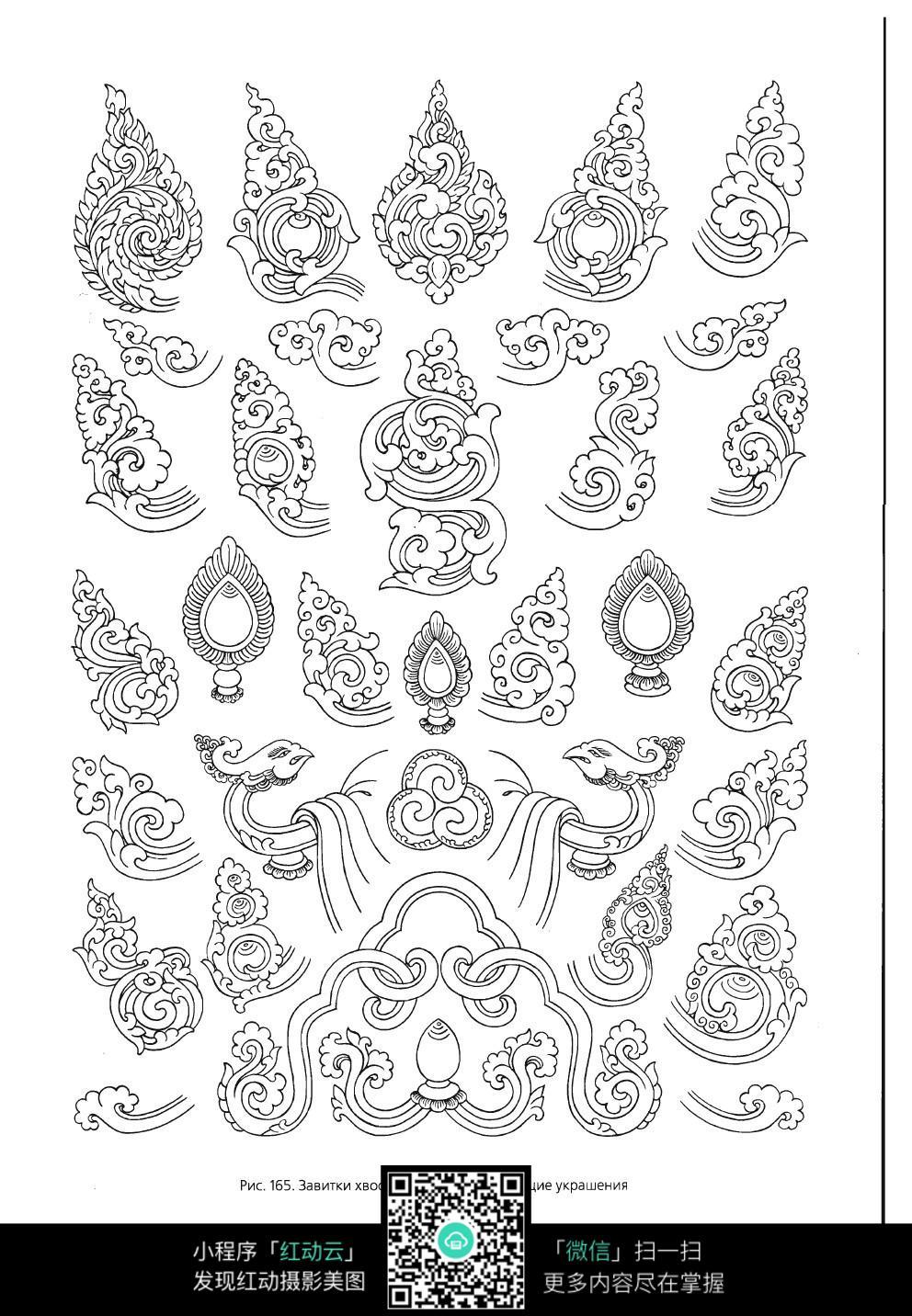 柳枝简笔画简单又漂亮-好看的图形边框怎么画