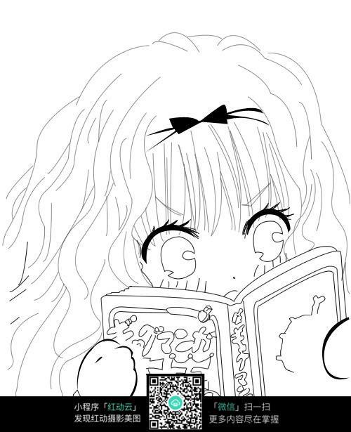 漫画手绘稿_人物卡通图片