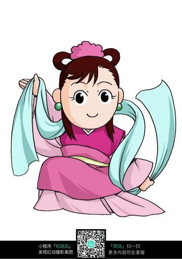 小仙女手绘填色画