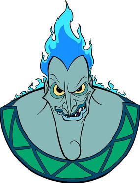 大力士海格力斯卡通角色冥王凯迪斯
