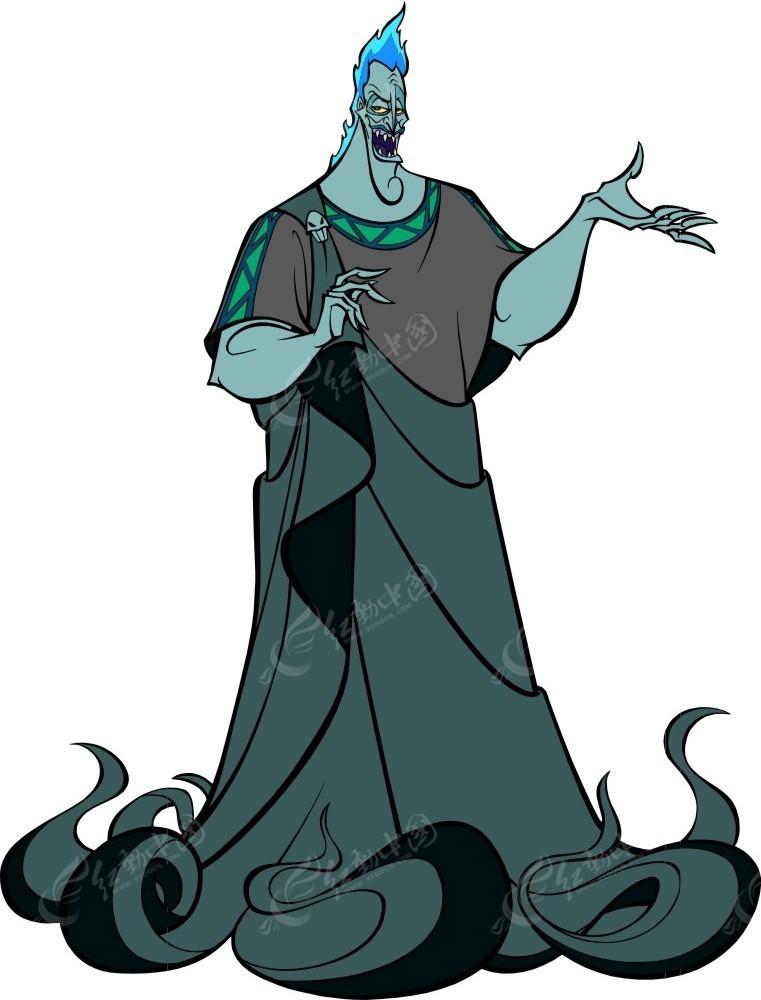大力士海格力斯卡通角色冥王凯迪斯全身图其他素材免费下载 编号