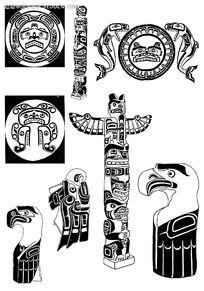 古典动物装饰图案