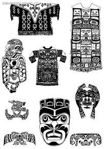 古典服饰装饰图案