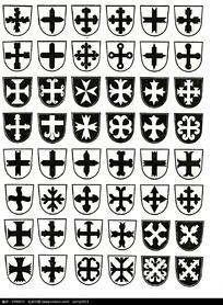 古典精品徽章图案素材