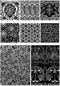 古典装饰花纹图片