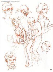 男女做爱动漫壁纸大全_性爱男女手绘线稿图